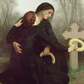 All Saints Day by William Adolphe Bouguereau