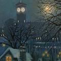 Allen Bradley Clock Milwaukee by Tom Shropshire