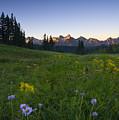 Alpine Dawn by Mike  Dawson