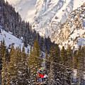 Alta Ski Resort Wasatch Mts Utah by Utah Images