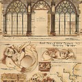 Altar Screen Beverly Minster East Riding Yorkshire England 1883 by Gibbons Sankley