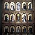 Altar Screen Cathedral Basilica Of St Francis Of Assisi Santa Fe Nm by Christine Till