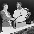 Althea Gibson 1927-2003 And Jackie by Everett
