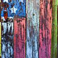 American Flag Gate by Garry Gay