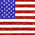 American Flag Print by Linda Mears