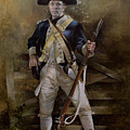 American Infantryman C.1777 by Chris Collingwood