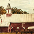 Americana Barn by Lisa Russo