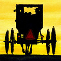 Amish Buggy At Dusk by Michael Vigliotti