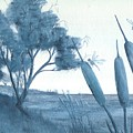 Among The Cattails... No. Four by Robert Meszaros