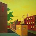 Amory Street Jamaica Plain by Debra Robinson