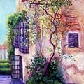 Andalucian Garden by Candy Mayer