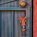 Angel At The Door by Carol Leigh