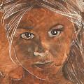 Angel In Process Head Detail by Richard Hoedl