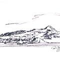 Angel Island From Sausalito by Paul Gaj
