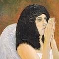 Annolita Praying by J Bauer
