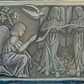 Annunciation - Existing Fragment by Anna Folkartanna Maciejewska-Dyba