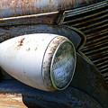 Antique Car Headlight by Douglas Barnett