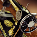 Antique Singer Sewing Machine 3 by Kelley King