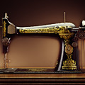 Antique Singer Sewing Machine by Kelley King