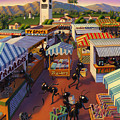 Ants At The Hollywood Farmers Market by Robin Moline