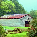 Appalachian Livestock Barn by Desiree Paquette