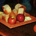 Apples And Bread by Susan Savad