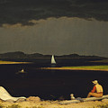 Approaching Thunderstorm by Martin Heade