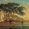 Arab Oasis by Narcisse Berchere