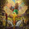 Archangel Haniel by Steve Roberts