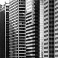 Architecture Nyc Bw by Chuck Kuhn