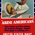 Arise Americans Join The Navy  by War Is Hell Store