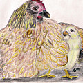 As A Hen Gathereth Her Chickens Under Her Wings by Marqueta Graham