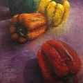 Assorted Peppers by Tom Forgione