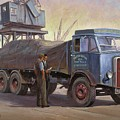 Atkinson At The Docks by Mike  Jeffries