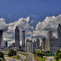Atlanta Skyline by Corky Willis Atlanta Photography