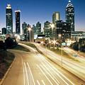 Atlanta Skyline by Jason Vanhoy