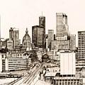 Atlanta Skyline by Pamir Thompson