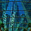 Atrium Gm Building Detroit by Chris Lord