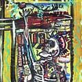 Attic Window by Robert Wolverton Jr