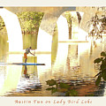 Austin Texas - Lady Bird Lake - Mid November Three - Greeting Card by Felipe Adan Lerma