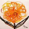Autumn Hope Flower by Mary Carol Williams