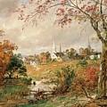 Autumn Landscape by Jasper Francis Cropsey
