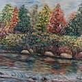 Autumn Stream by Nadine Rippelmeyer