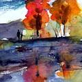 Autumn Walk by Anne Duke