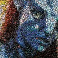 Avatar Neytiri Bottle Cap Mosaic by Paul Van Scott