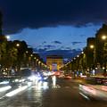 Avenue Des Champs Elysees. Paris by Bernard Jaubert