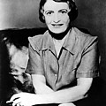 Ayn Rand, 1957 Author Of Atlas Shrugged by Everett