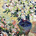 Azaleas by Claude Monet