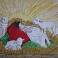 Baby Jesus At Birth by Kathy Marrs Chandler