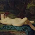 Bacchante by Pierre Honore Hugrel